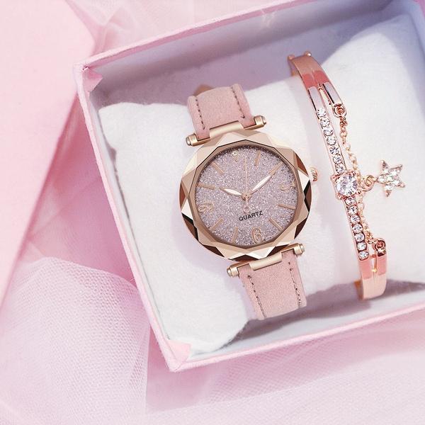 starryskywatch, Fashion, leather strap, Watch