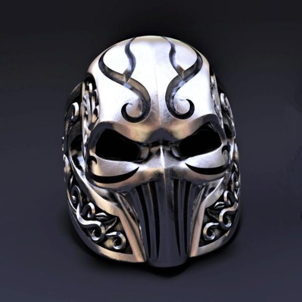 Steel, ringsformen, Goth, Jewelry