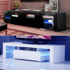 woodtvcabinet, gloss, furnituretvstand, Home & Living
