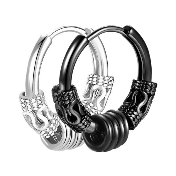 aretesmujer, Steel, Stainless Steel, Men Earrings