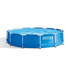 outdoormetalframelargebackyardplastic, Swimming, pool, Ground