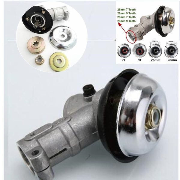 Grass Trimmer Gearbox Gear Head Replace Lawn Mower Accessories Gardening Tool