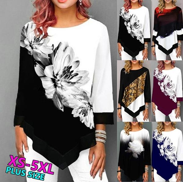 blouse, Women, Plus Size, Winter