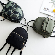 women bags, camouflageschoolbag, School, plaid