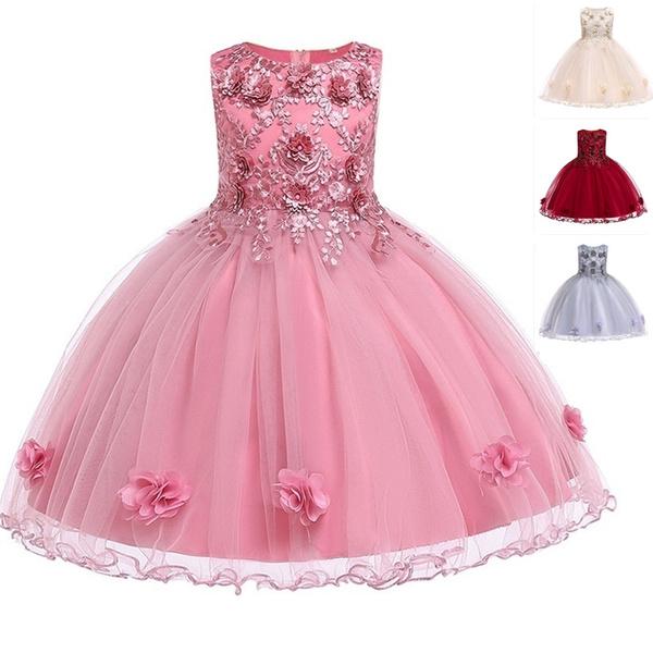 Lace, Dress, flower girl dresses, Elegant