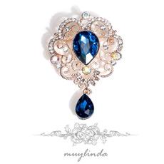 crystalwaterdropbrooch, scarfjewelry, baroquebrooche, Pins