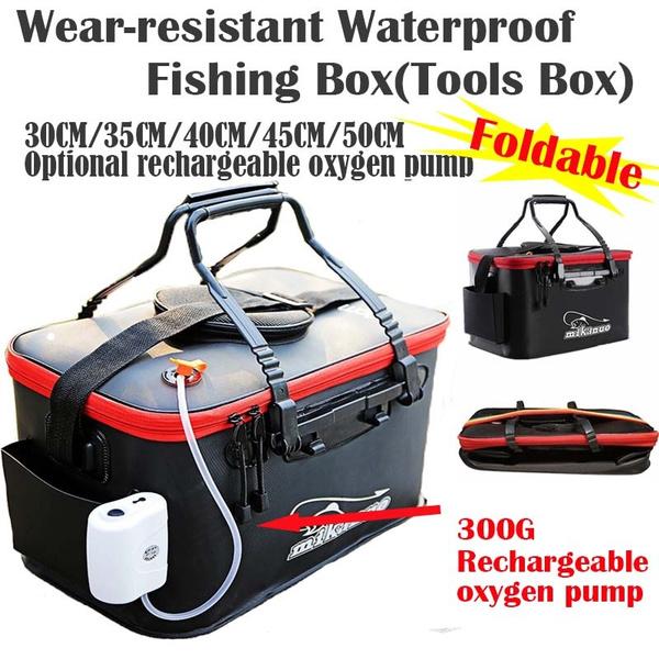 waterproof bag, Box, rechargeableoxygenpump, Waterproof