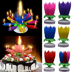 party, flowercandle, Flowers, Magic