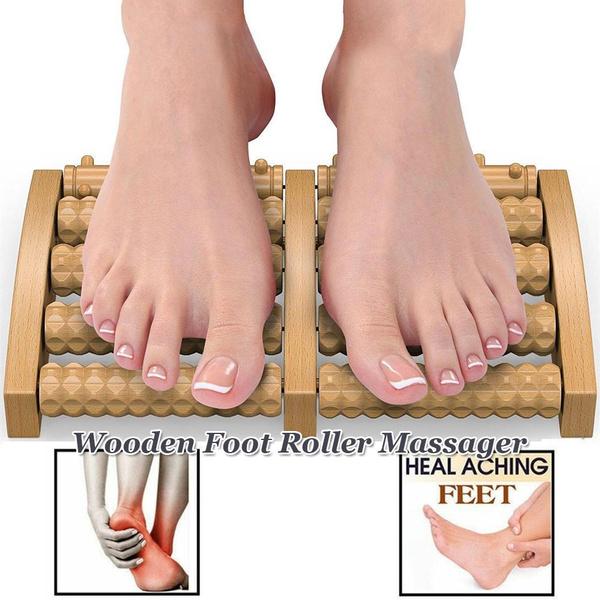 footmassager, Sandals, Wooden, woodenmassager