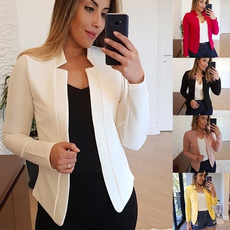 Moda, Blazer, Office, Long sleeved
