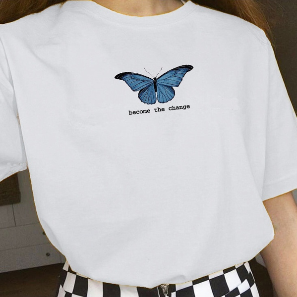 butterfly, Summer, cute, graphic tee