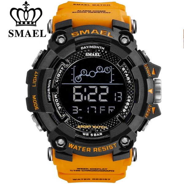 LED Watch, silicone watch, Waterproof, Metal