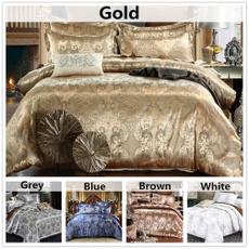 King, jacquard, bedclothe, Home & Living