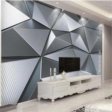 Geometric, Wall, Sofas, Wallpaper