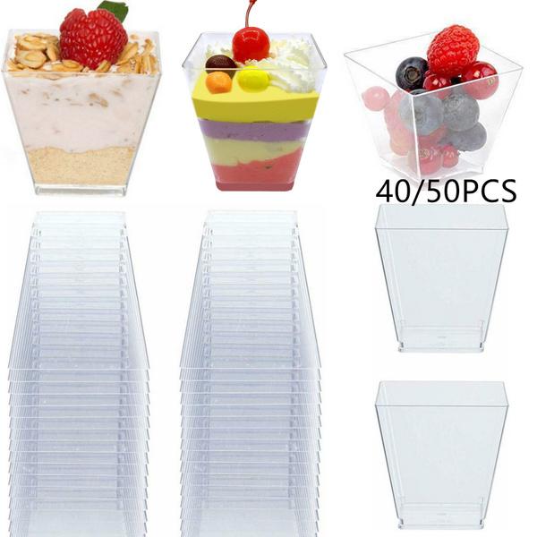 moussescup, cakecup, Dessert, plasticdessertcup