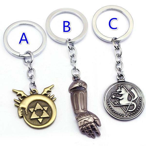 Key Chain, Jewelry, alchemist, Key Rings