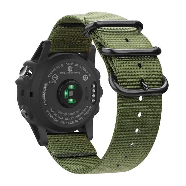 Nylon, Watch, garminwatchband, Wristbands