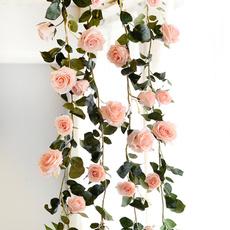 leaves, Decor, Flowers, fakeroseflower