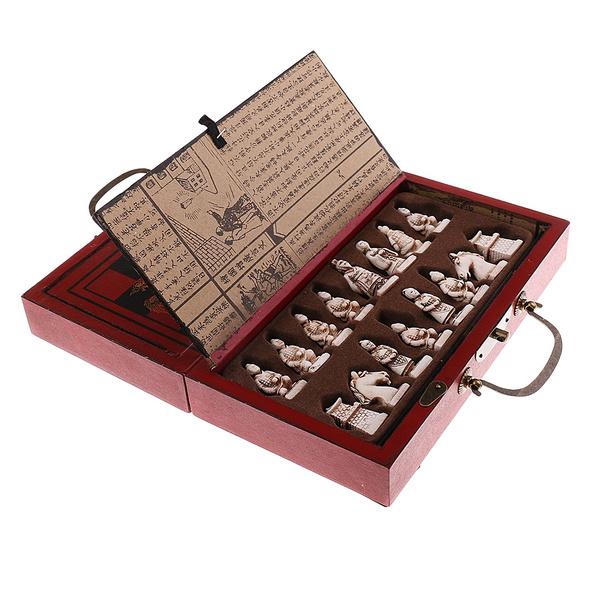 Antique, foldingchessboard, Toy, Chess