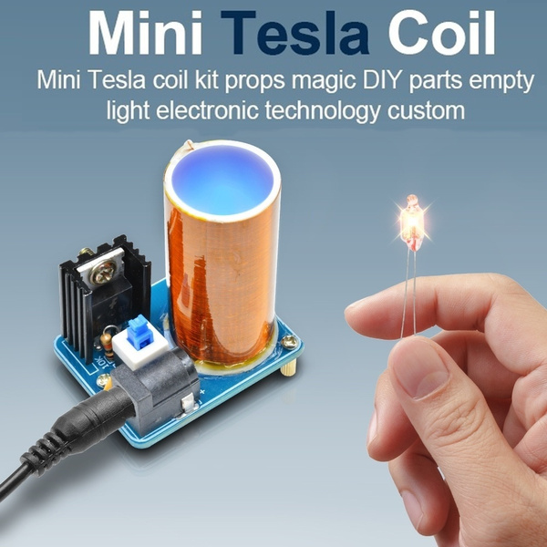 Mini, industrial, teslacoil, coilmodule