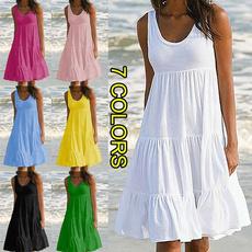 Summer, Fashion, Necks, Beach