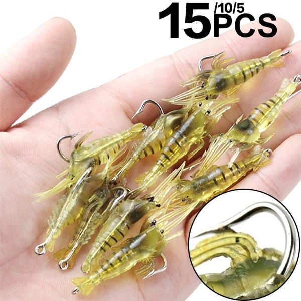 Lures, softshrimp, softlure, Fishing Lure
