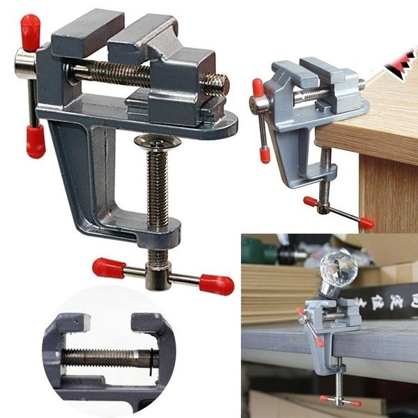 clamptable, craftmillfixed, portable, Aluminum