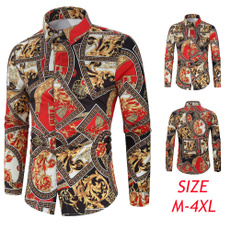 slim fit shirt, Fashion, Floral print, Shirt