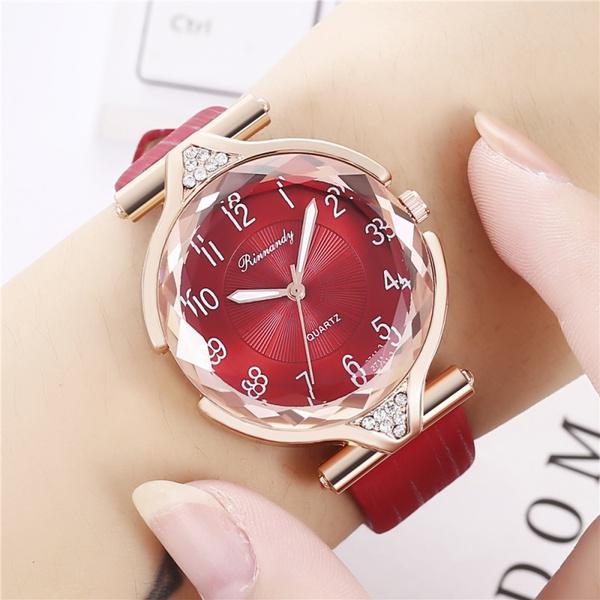 Fashion, leather strap, Bracelet Watch, Watch