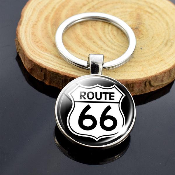 route66, Key Chain, Jewelry, Chain