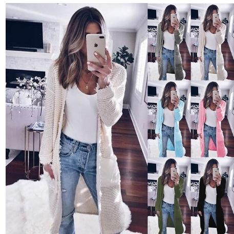 Women, cardigan sweaters, Coat, sweater coat