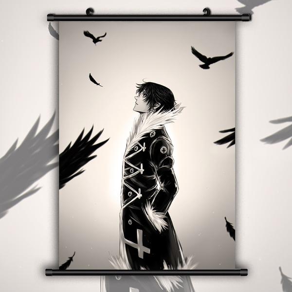 HUNTER x HUNTER Chrollo Lucifer HD Canvas Print Wall Poster Scroll Room Decor
