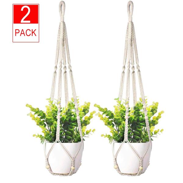 Plants, macramerope, indoorhomedecor, Home Decor