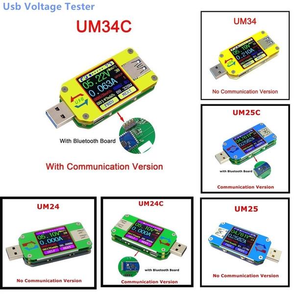 um25ctester, usb, Battery, ammeter