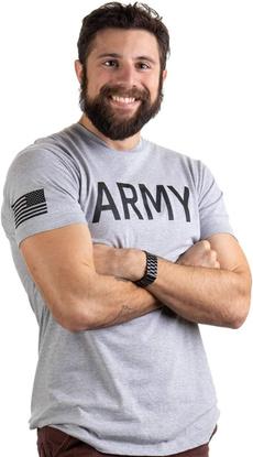 Fashion, Slim T-shirt, menshortsleevetshirt, Army