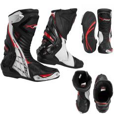 Boots, white, Sport