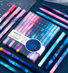 School, Office, Starry, blackinkgelpen
