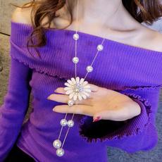 longsweaterchainnecklace, fashionsweaterchain, Chain, pearls