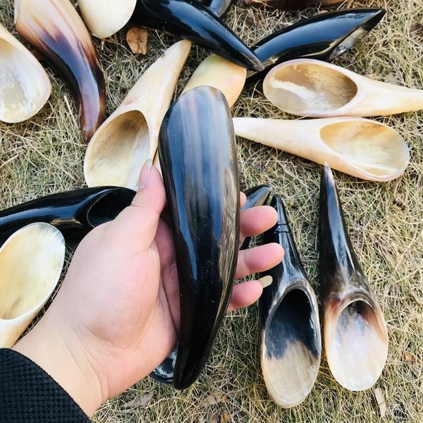 viking, oxbaffalohornmug, naturalgenuinehorn, fullhorn
