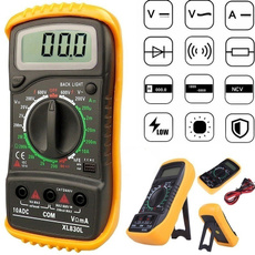 volttester, digitalmultimeter, xl830lvoltmeter, lcdvoltmeter