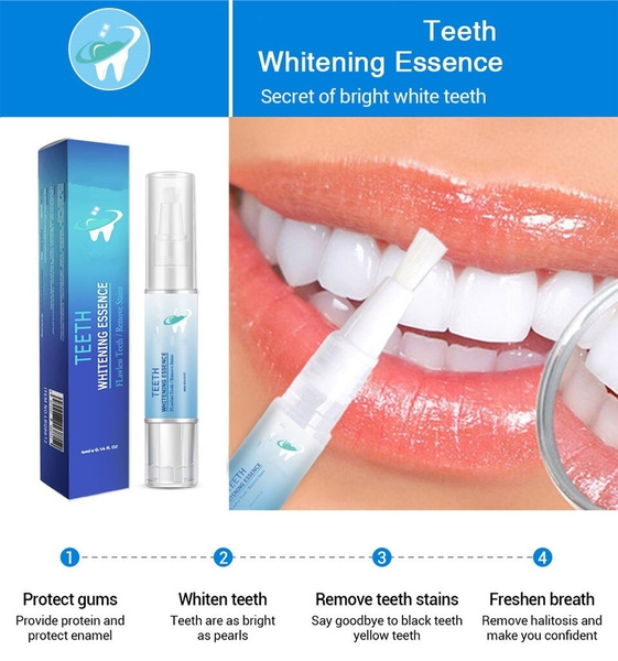 3d White Teeth Whitening Pen Tooth Gel Whitener Bleach Remove Stains Oral Hygiene Perfect Smile Pro Nano Teeth Whitening Kit Wish