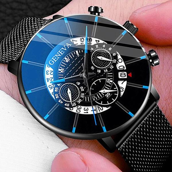 ultrathinwatch, Fashion, meshbeltwatch, classic watch