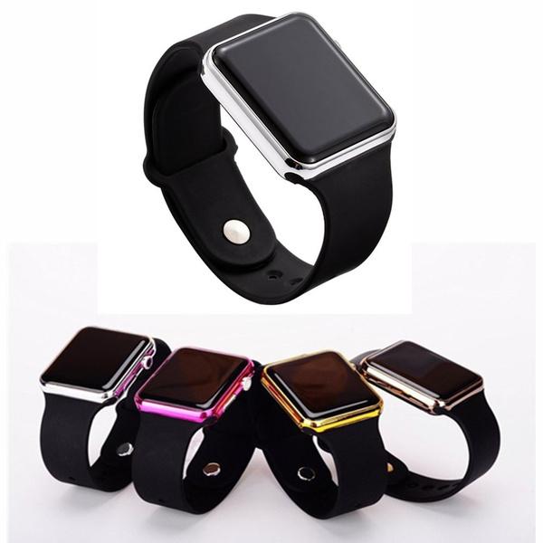 LED Watch, silicone watch, Jewelry, sportwatchesforwomen