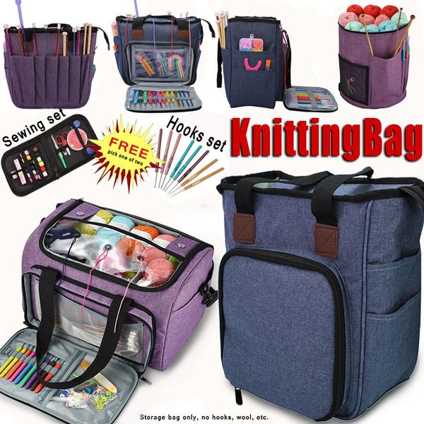 knittingstoragebag, Knitting, yarnstoragebag, Oxfords