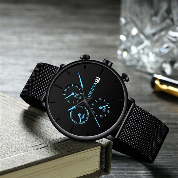 meshstrapwatch, Men Business Watch, Gifts For Men, Gifts