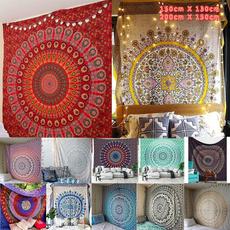 Polyester, Towels, mandalatapestry, Home & Living