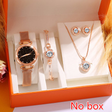 quartz, Stud Earring, Reloj, Quartz Watches