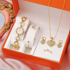Heart, DIAMOND, gold, fashion watches