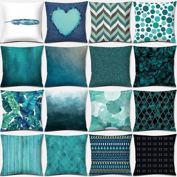 Blues, Plants, decorativepillowcase, Sofas