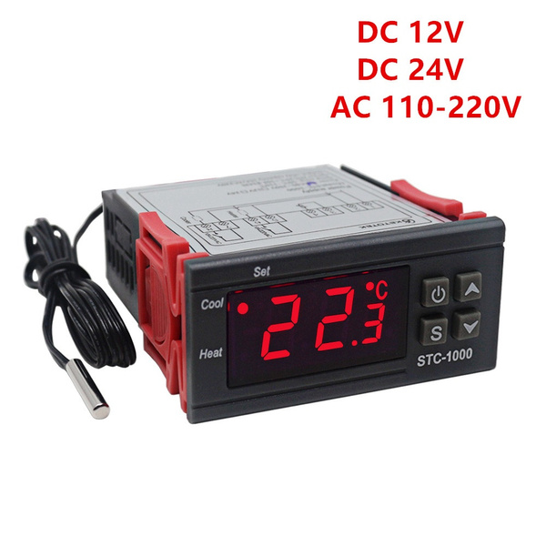 thermostatcontrol, led, controlsystemsandplc, sensortermostat